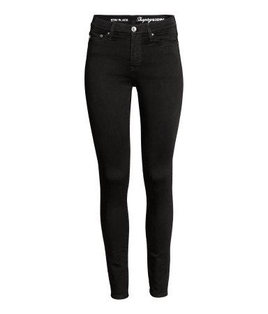 HM Black Jeans
